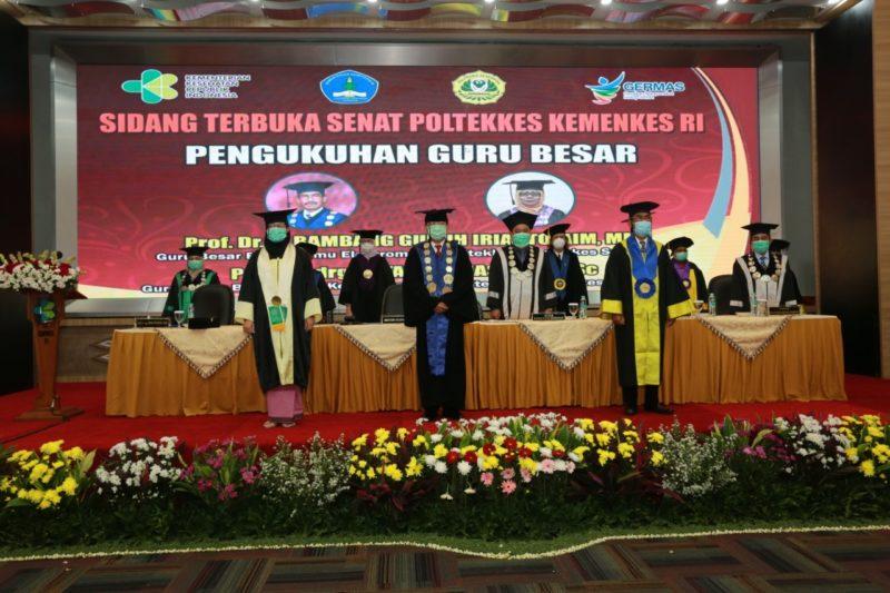Pengukuhan Guru Besar Teknik Elektromedik Poltekkes Kemenkes Surabaya